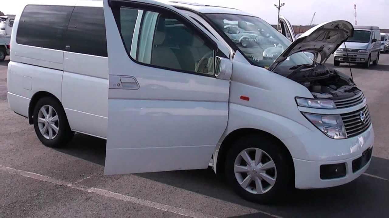 Nissan Elgrand E51 8 seater coming to Edward Lee's ! - YouTube