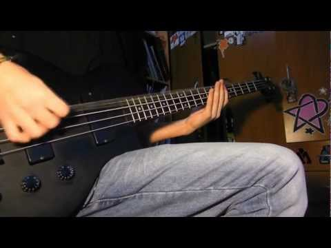 As I Lay Dying - Confined (Bass Cover)