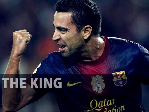 Xavi Hernandez - The King 2012 ||HD||