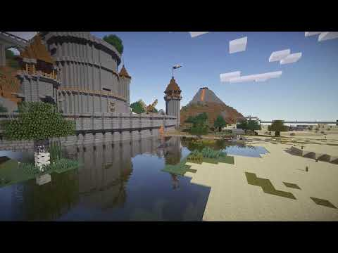 Minecraft - My home on the SMP server (Castle / Tower build)