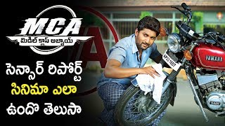 Mca Gets Censor Clearance | Nani, Sai Pallavi
