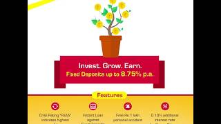 Mahindra Finance - Fixed Deposits (8.75% interest p.a.)