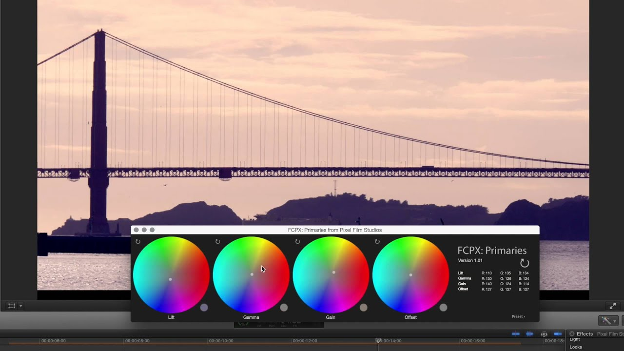 Pixel Film Studios Colorist 1.1 For Final Cut Pro X [Mac Os X] [coque599] – AppzDam