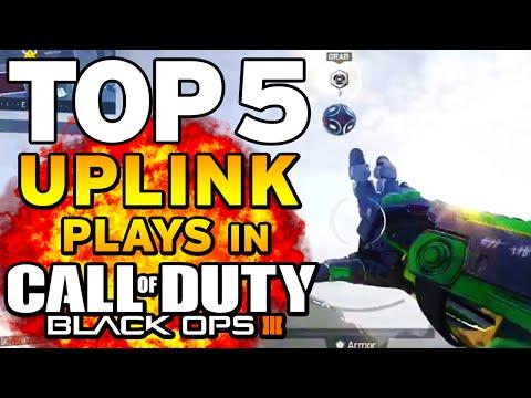 Black Ops 3 - Top 5 UPLINK PLAYS - Long Distance Kobe Throws! - BO3 Community Top Five #16