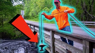 We Went Magnet Fishing At A 200 Year Old Dam! (Historical Artifacts FOUND & CONFISCATED)