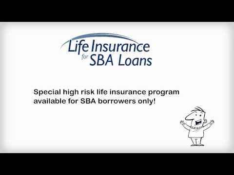 Life insurance for SBA loans