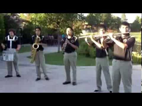 (Full Performance) Don Bosco Technical Institute Marching Band Family Barbeque (8/22/2013)