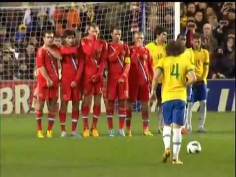 Brazil vs Russia 1-1 - melhores momentos -- 25/03/2013