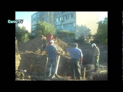 Ilegalităţi pe şantier, muncitorii interzic filmatul