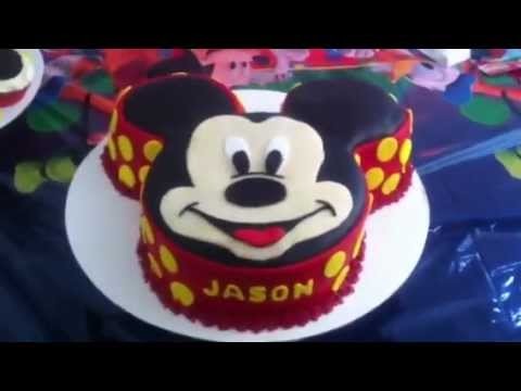 Mickey Mouse And Pluto Cake Pans