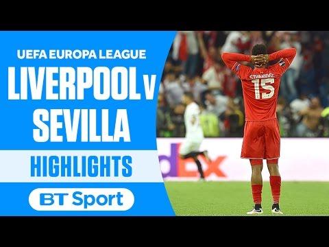 Liverpool 1-3 Sevilla | Europa League Final Highlights and Goals | BT Sport