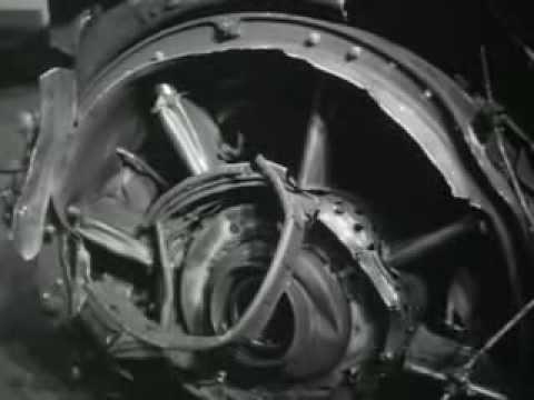 Straaljager neergestort in Bussum (1957)