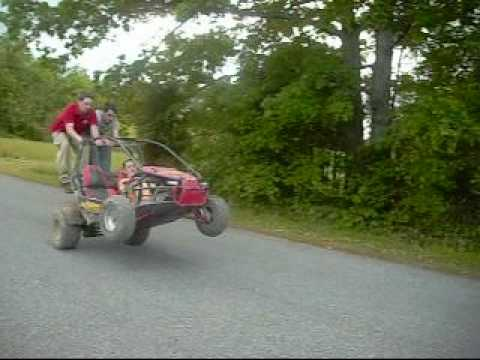 150cc carbide go kart wheelies