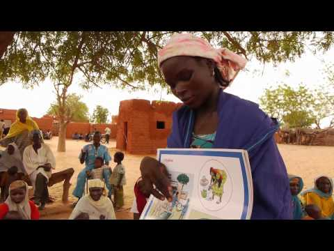 Communities work together to improve key family practices in Niger