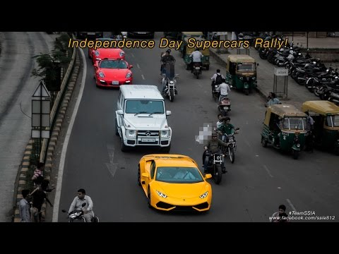 Independence  Day Rally  in Ahmedabad - Video by TeamSSIA