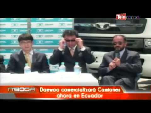 Daewoo comercializará camiones ahora en Ecuador