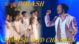 DIMASH and children - Jamaika. Димаш и дети - Jamaika