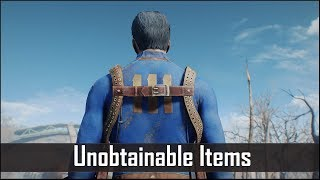 Fallout 4: 5 Unobtainable Items that can't be Used - Fallout 4 Secrets (Part 2)