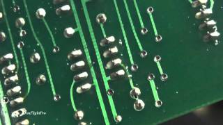 Soldering Electronics Components on a Circuit Board
