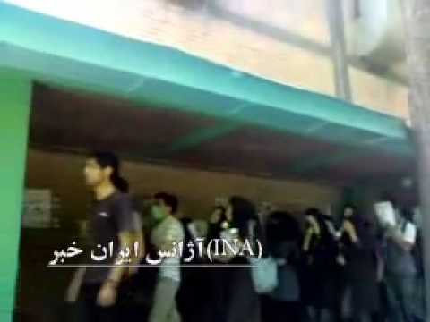 Memorial of post-election victim Kianoosh Asa - Iran Tehran 1 June 2010 P3