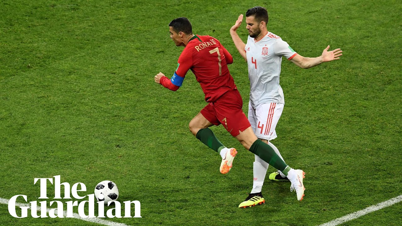Spain's Nacho on Ronaldo foul : 'I wouldn't have given the penalty'