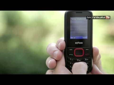 myPhone 3200 dual SIM - test telefonu od technikalia.tv