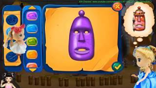 Thơ Nguyễn chơi game thiết kế mặt nạ người thổ dân