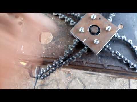 Вечная леска на бензокосу вес 410 грамм....смотрите дополнение к видео https://youtu.be/8vXqK2Yfd3c