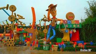 [HD] Toy Story Land Tour - Hong Kong Disneyland 2017