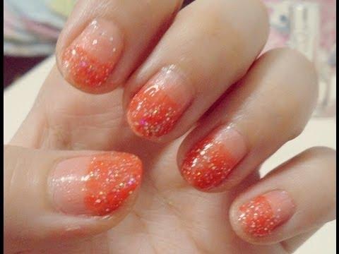 img 1733 easy summery orange nails Easy Summery Orange Nails