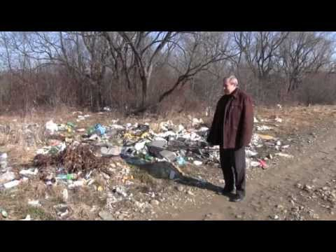 Стихійне сміттєзвалище на березі Лімниці