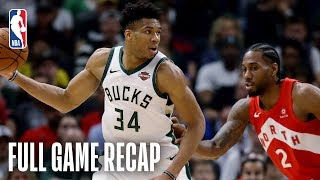 RAPTORS vs BUCKS | Kawhi Leonard Drops 35 Points & 9 Assists in Milwaukee | Game 5