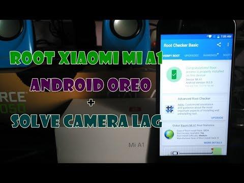 Cara Root Xiaomi Mi A1 Android Oreo + Solve Kamera Lag/Lemot