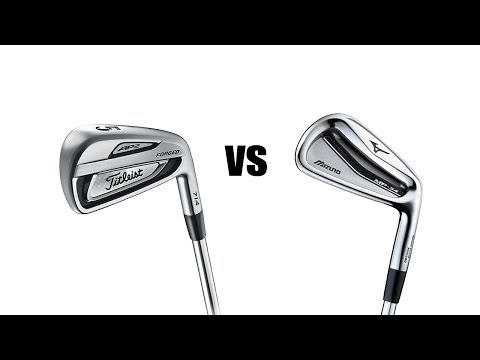 Titleist 714 AP2 Vs Mizuno MP54 Irons Comparison and Review
