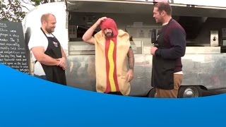 Joe Marler & Mark Lambert – making sausages
