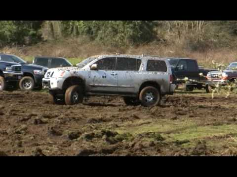 Nissan Armada at Mudfest 2010