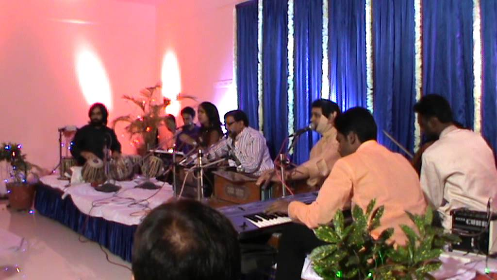 A Medley of Ustad Nusrat Fateh Ali Khan songs by Samidha Shetty ...