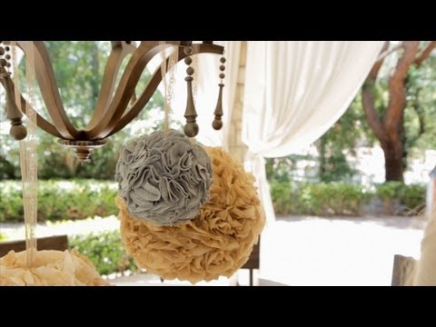 How To Make Party Poms - Let's Craft With Modernmom video