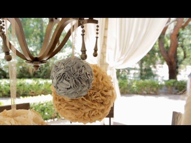 How to Make Party Poms - Let's Craft with ModernMom