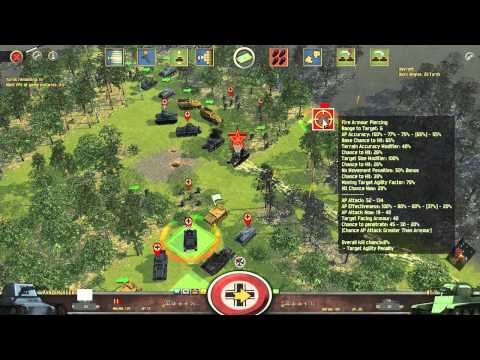Battle Academy 2 Preview ~ 03 Infantry Attacks