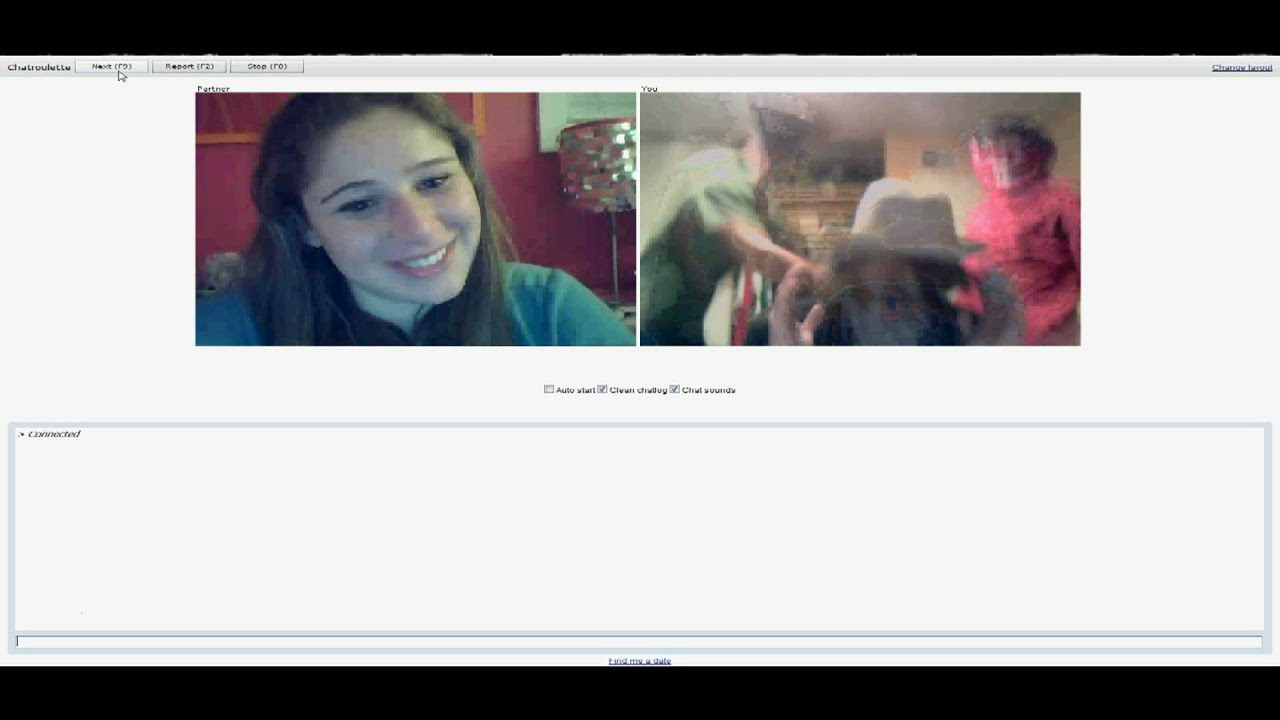 Gettin down and dirty on Chatroulette [; - YouTube