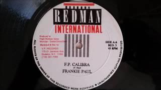 "Frankie Paul - FP Caliber - Redman International 12"" w/ Version"