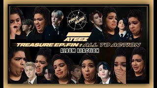 ATEEZ 'TREASURE EP FIN: ALL TO ACTION' ALBUM & LYRICS * REACTION*