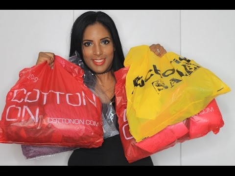 Mr Price, Cotton On, Factorie Clothing Haul | Canvas Fashions - South African Beauty Blogger