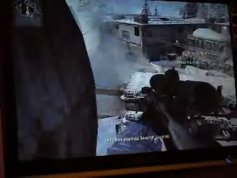 call of duty modern warfare 2 sniper fi