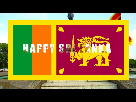 Pharrell Williams - HAPPY - We are From SRI LANKA (OFFICIAL VIDEO)