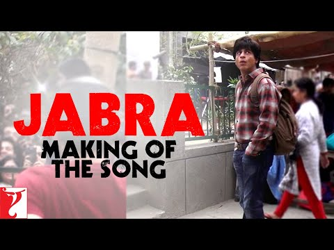 Making Of The Song - Jabra FAN Anthem | FAN | Shah Rukh Khan | In Cinemas April 15