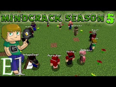 Minecraft MindCrack S5E1 Season 5 of Mindcrack Begins