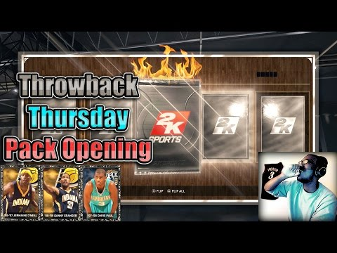 NBA 2K15 PS4 MyTEAM - FACECAM Throwback Onyx Pack Opening!! NEW Chris Paul, & More!!