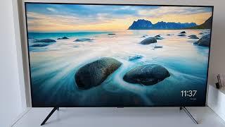 01. Samsung TU8000 - TV Unboxing & Quick Setup